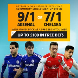 community shield 2015 betfair