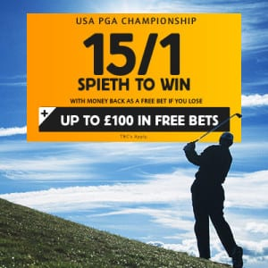 USPGA Championship 2015 betting betfair