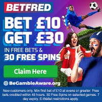 betfred Cash out bettingsports